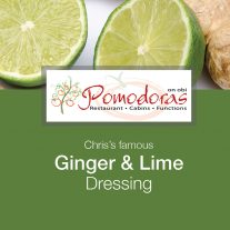 Ginger and Lime Dressing
