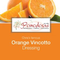 Orange Vincotto Dressing